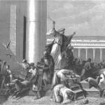 Разгон Христом ростовщиков в Храме.